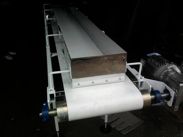 Конвейеры ленточные для сыпучих инертных грузов